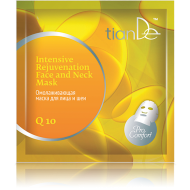 Q10 Intensive Rejuvenating Face & Neck Mask,Lifting Effect,1pc-0