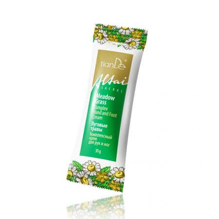 """Complex Cream for Hands and Feet """"Meadow Herbs"""",30g-0"""