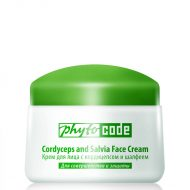 """Phytocode"" Face cream with Cordyceps and sage 25+,50g-0"